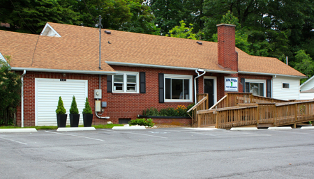 spruce pine office exterior